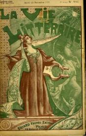 Le Cahier Bleu. Souvenirs D'Une Jeune Femme. La Vie Litteraire. - Couverture - Format classique