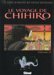 Le Voyage De Chihiro - Tome 04 - Couverture - Format classique