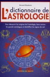 Dictionnaire De L'Astrologie - Couverture - Format classique