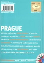Prague - 4ème de couverture - Format classique