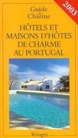 Guide des hotels et maisons d'hotes au p - Intérieur - Format classique