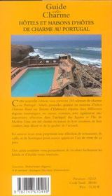 Guide des hotels et maisons d'hotes au p - 4ème de couverture - Format classique