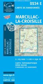 Marcillac la Croisille - Couverture - Format classique