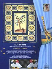 Patchworks Chambres D'Enfants - 4ème de couverture - Format classique