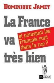 La France Va Tres Bien - Couverture - Format classique
