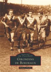 Girondins de Bordeaux - Couverture - Format classique