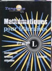 Mathematiques terminale l - Couverture - Format classique