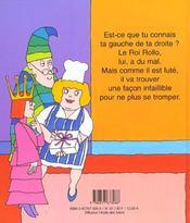 Roi Rollo Et Les Chaussettes Neuves - 4ème de couverture - Format classique