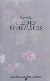 Fleurs ephemeres - Intérieur - Format classique