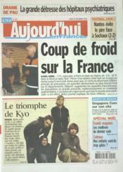 Aujourd'Hui En France N°1117 du 20/12/2004 - Couverture - Format classique