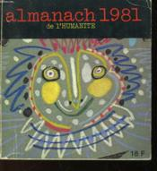 Almanach 1981 - Couverture - Format classique