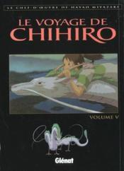 Le voyage de Chihiro - Couverture - Format classique