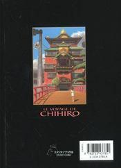 Le voyage de Chihiro - 4ème de couverture - Format classique