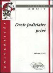 Droit Judiciaire Prive - Intérieur - Format classique