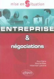 Entreprise & Negociations - Intérieur - Format classique
