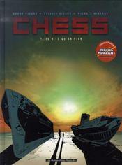 Chess t.1 ; tu n'es qu'un pion - Intérieur - Format classique