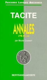 Tacite ; annales t.14, 1-22 - Couverture - Format classique