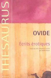 Ecrits erotiques - Intérieur - Format classique