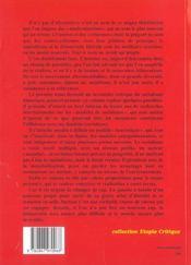 Le Socialisme Est (A)Venir T.2 ; Les Possibles - 4ème de couverture - Format classique