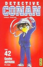 Detective Conan T42 - Intérieur - Format classique