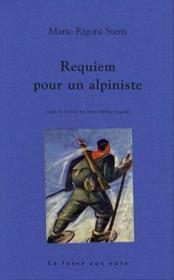 Requiem pour l'alpiniste en guerre - Couverture - Format classique