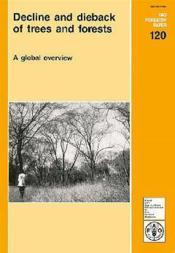 Decline and dieback of trees and forests ; a global overview ; fao forestry paper n.120 - Couverture - Format classique