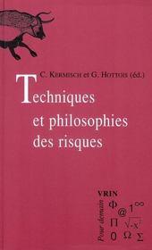 Techniques et philosophie des risques - Intérieur - Format classique