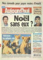Aujourd'Hui En France N°1118 du 21/12/2004 - Couverture - Format classique