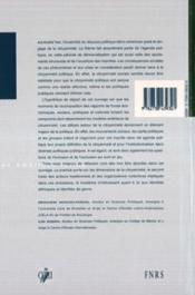 Citoyennete Sociale En Amerique Latine - 4ème de couverture - Format classique