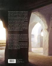 Le m'zab ; une leçon d'architecture - 4ème de couverture - Format classique