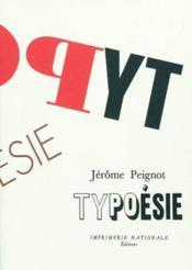 Typoesie - Couverture - Format classique