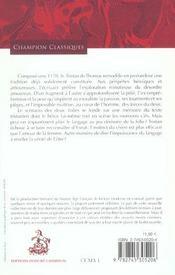 Le roman de Tristan - 4ème de couverture - Format classique