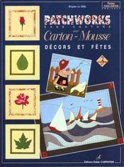 Patchworks Sur Carton Mousse - Decors Et Fetes T3 - Intérieur - Format classique