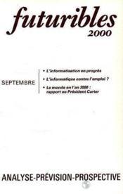 Futuribles N.36 Septembre 1980 - Couverture - Format classique