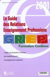 Grep ; Formation Continue - Intérieur - Format classique