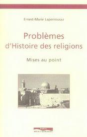 Problemes d'histoire des religions ; mises au point - Intérieur - Format classique