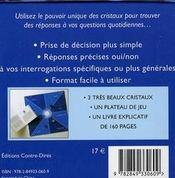 Cristaux ; coffret cube - 4ème de couverture - Format classique