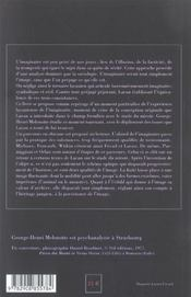 Substances De L' Imaginaire - 4ème de couverture - Format classique