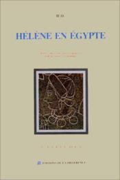 Helene En Egypte - Couverture - Format classique