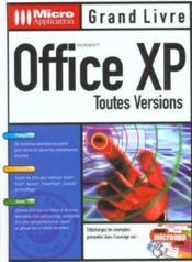 Grand Livre Office Xp - Couverture - Format classique