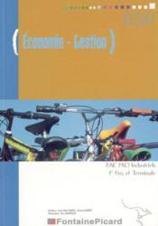 1ere/terminale Pro Industriel ; Economie-Gestion - Couverture - Format classique