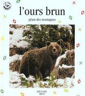 L'ours brun - Intérieur - Format classique