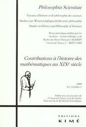 Philosophia Scientiae 2000 T4/1 - Intérieur - Format classique
