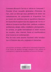 Artgamebook - 4ème de couverture - Format classique