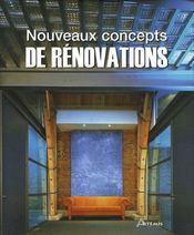Nouveaux concepts de rénovation - Intérieur - Format classique