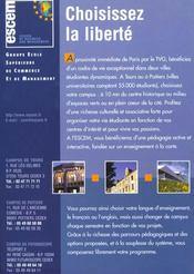 Epreuves Economiques Concours Prepas Economiques Et Commerciales - 4ème de couverture - Format classique