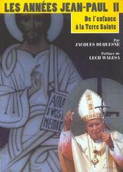 Les Annees Jean-Paul Ii - Intérieur - Format classique