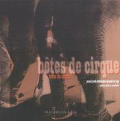 Bêtes de cirque - Intérieur - Format classique