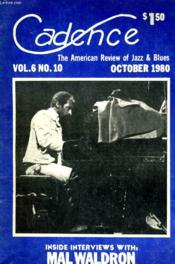 Cadence - The American Review Of Jazz & Blues - Vol.60 N°10 - Couverture - Format classique