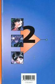 Neon-genesis evangelion t.2 ; le couteau et l'adolescent - 4ème de couverture - Format classique